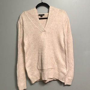Beautiful Beige Banana Republic Sweater w/ hood